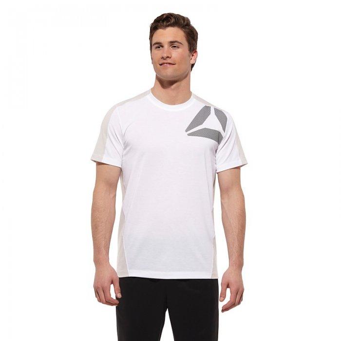 Pánské triko Reebok GRAPHIC bílé