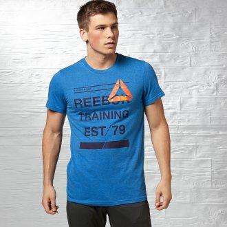 Pánské tričko RBK EST79 GRPH Z89693 b197854073
