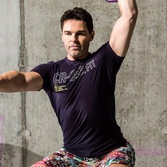 Pánské tričko Reebok CrossFit BURNOUT SS T Z90393