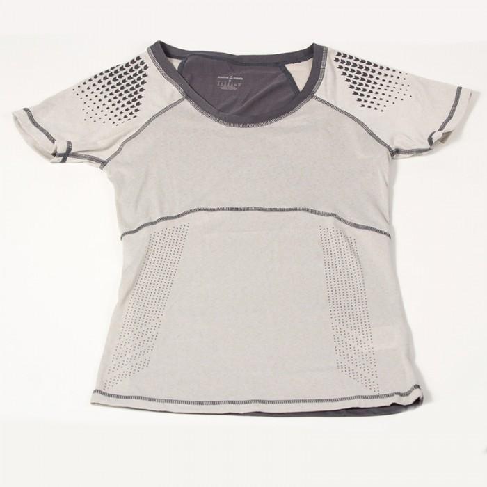 CrossFit Women's Purple Reebok Gradient Cupron Short Sleeve Shirt Z64268