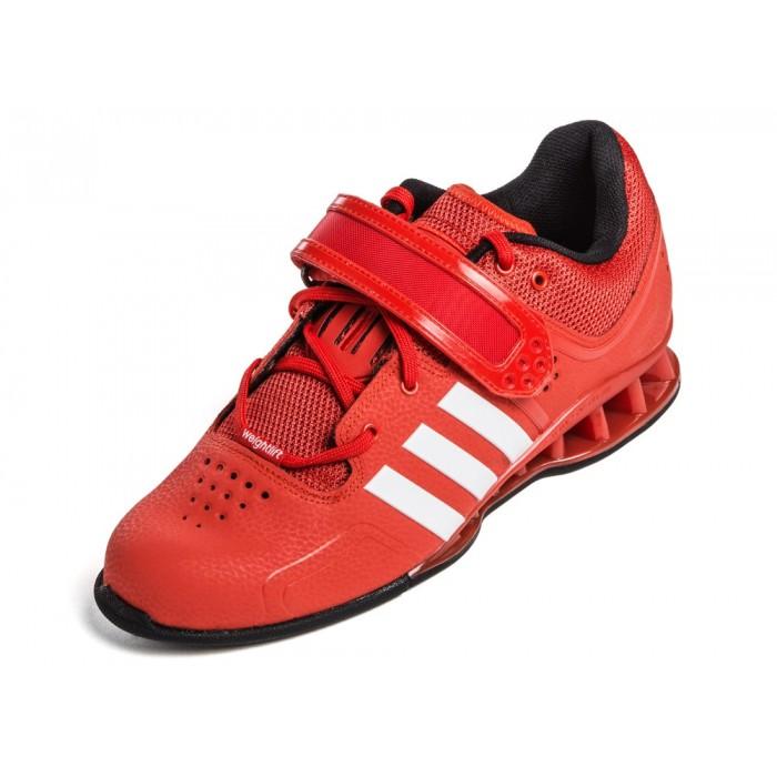 fca9de8f247 Adidas AdiPower červené vzpěračské boty  Adidas AdiPower červené vzpěračské  boty ...