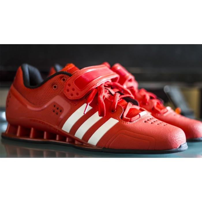 faac72b84a5 adidas AdiPower červené vzpěračské boty V24382 - BotyObleceni.cz