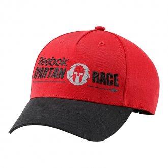 Červená kšiltovka Spartan Race Z91555
