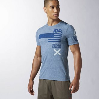 643d3880a3ed Pánské tričko Reebok CrossFit SS TRIGRAP1 AA1142