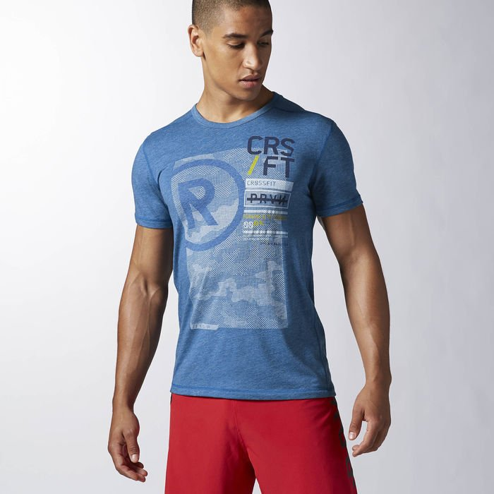 Pánské tričko Reebok CrossFit BURNOUT TEE AB4895 - BotyObleceni.cz 7cfae596df