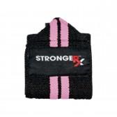 Zpevňovač zápěstí SRX Oly Wraps růžový