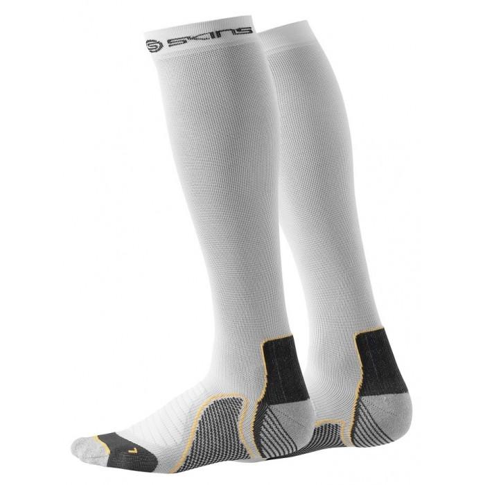 Kompresní podkolenky Skins Active Unisex White