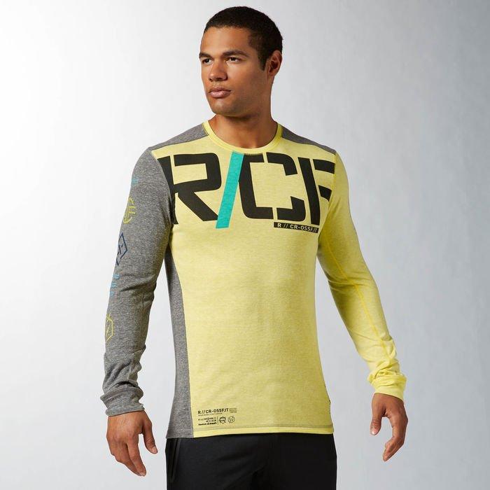 CrossFit triko s dlouhým rukávem Unity Tri-Blend B86774