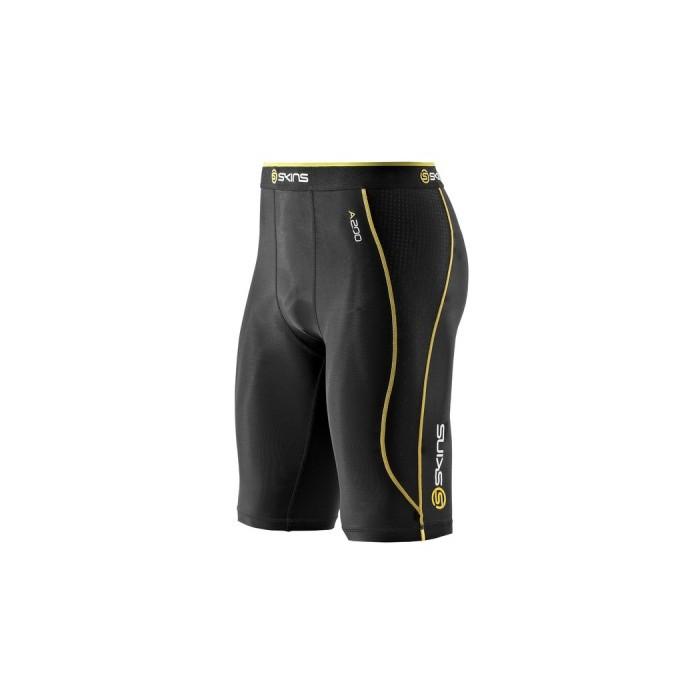 420c3be078b Fotografie produktu  Pánské kompresní poloviční kalhoty Skins Bio A200 Black