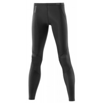 Skins A400 Womens Black/Silver Long Tights