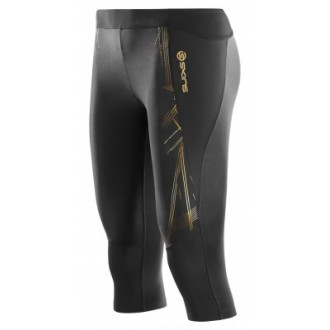 Skins A400 Womens Gold 3/4 Tights