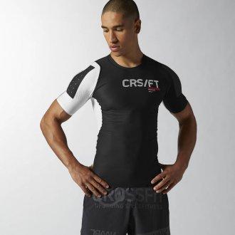 b93d2ce6cc1 Pánské tričko Reebok CrossFit PWR5 Compression Tee AB4898 ...