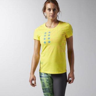 Dámské tričko Reebok CrossFit TRAINING SS TEE GRAPH AI9426