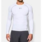 Pánské Kompresní Tričko s dlouhými rukávy bílé
