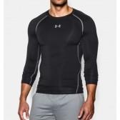 Pánské Kompresní tričko s dlouhými rukávy černé