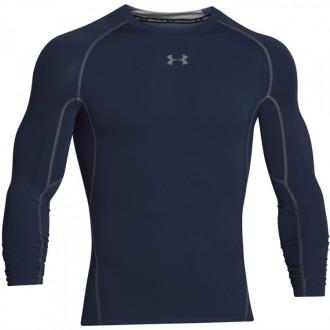 Pánské kompresní tričko Under Armour s dlouhými rukávy tmavě modré