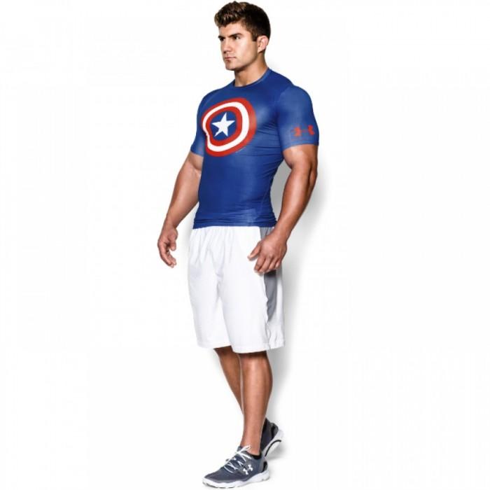 Pánské kompresní tričko Under Armour Alter Ego Modré