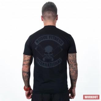 fea7d94b039 Pánské tričko Rogue International černé - BotyObleceni.cz