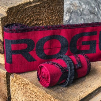 Zpevňovač zápěstí wrap Rogue Strength Red