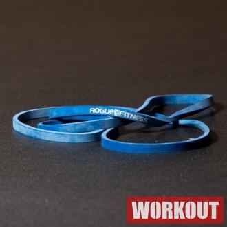 Odporová guma Rogue - Modrá 50 lbs / 22,5 kg