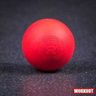 Rogue masážní Lacrosse Ball - červený