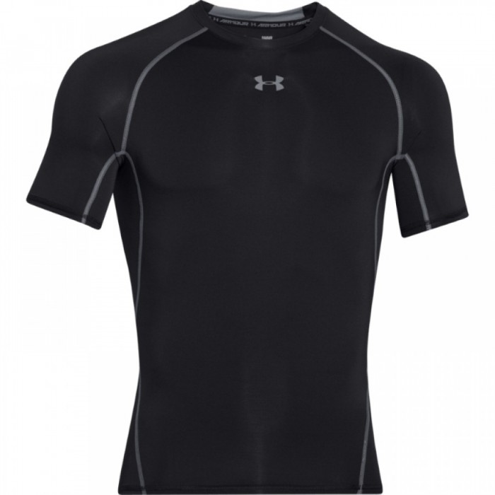 Pánské kompresní triko Under Armour s krátkým rukávem černé