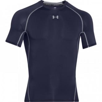 Pánské kompresní triko Under Armour s krátkým rukávem tmavě modré