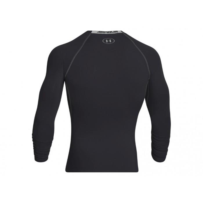 Pánské kompresní tričko Under Armour s dlouhými rukávy Černé