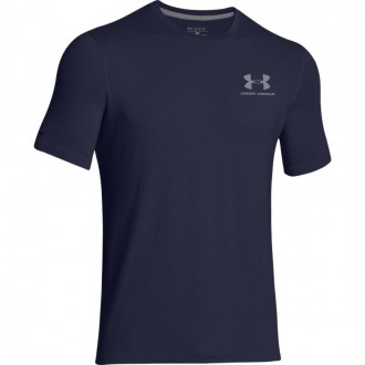 Pánské sportovni triko Under Armour Left tmavě modré 8c2f061cb8