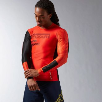 Pánské tričko CrossFit LS Compression Shirt AP8947