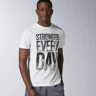 74fecd91dc9 Pánské triko Reebok Stronger Everyday Graphic Tee AY1063 ...