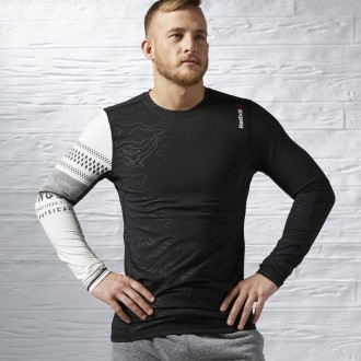 Pánské triko Reebok  One Series SpeedWick Thermal LS Compression AX9478