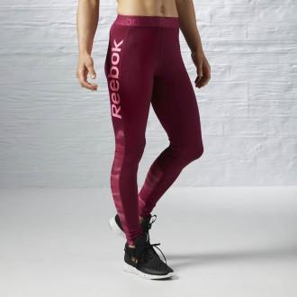 Dámské legíny Reebok Workout Ready logo tights AY1871 - BotyObleceni.cz bf84f9043c1