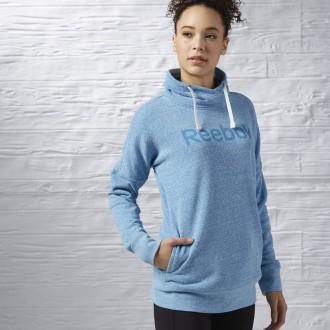 Dámská mikina Reebok Elements Logo Cowl Neck Sweatshirt AY2025 ... bf1f629504