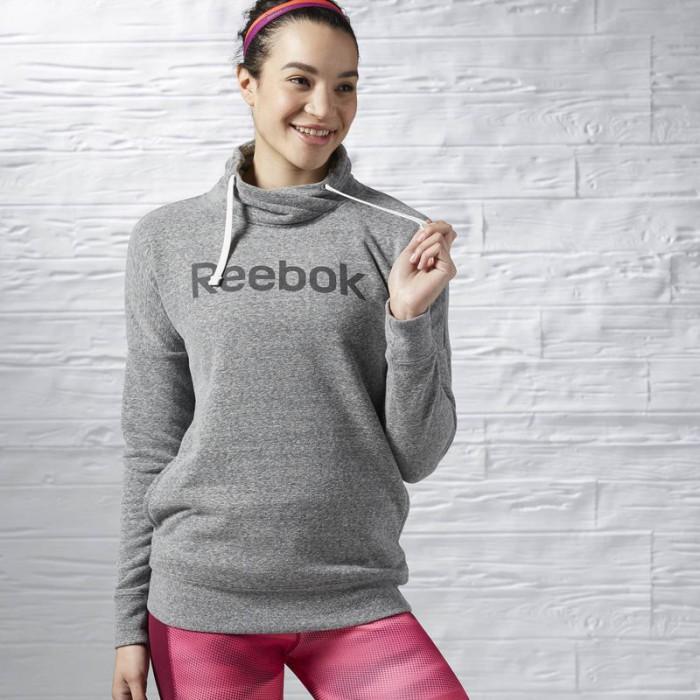 Dámská mikina Reebok Elements Logo Cowl Neck Sweatshirt AY2027. Elements  Logo Cowl Neck Sweatshirt AY2027 ... cea8e3f201