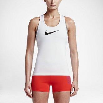 Dámský top Nike Pro - bílá
