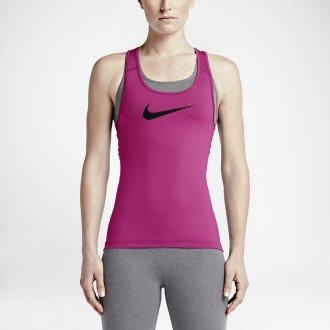 Dámský top Nike Pro CL TANK  - růžová