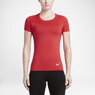 1035f5bf6 Dámské tričko NIKE PRO HYPERCOOL SS - červené