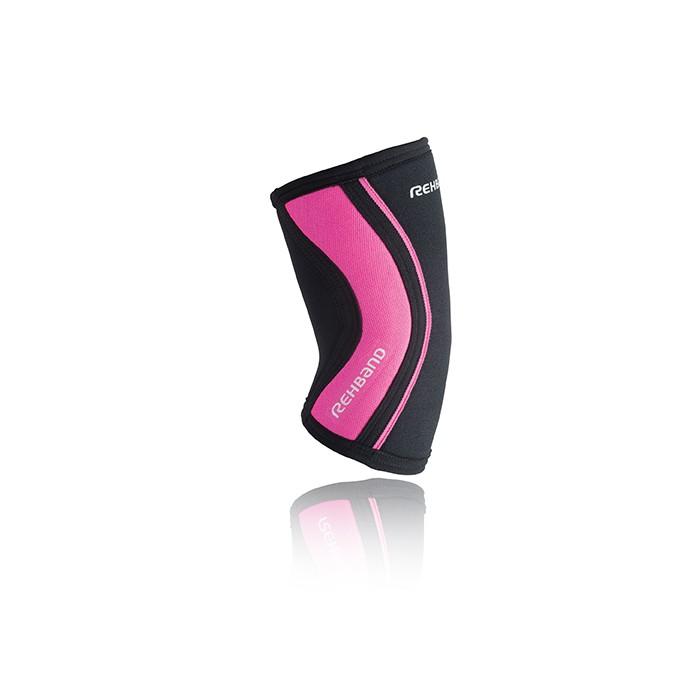 Bandáž lokte RX 5mm, černá/růžová
