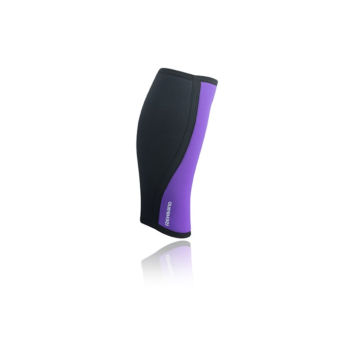 Bandáž lýtka/holeně RX 5 mm, fialová/černá