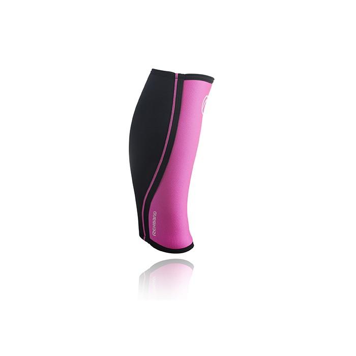 Bandáž lýtka/holeně RX 5 mm, růžová/černá