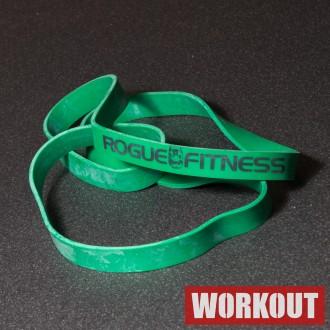Odporová guma Rogue - Zelená 65 lbs / 29,5 kg