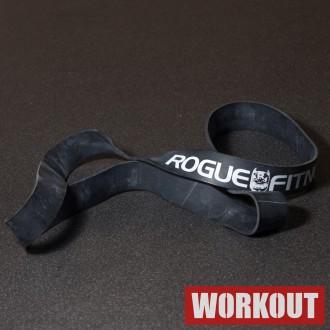 Odporová guma Rogue - černá 100 lbs / 45 kg