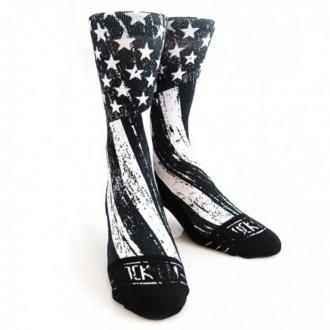 Ponožky Rock´Em STARS STRIPES B/W