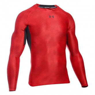 UNDER ARMOUR HG LS COMP PRINTED 1258896-601