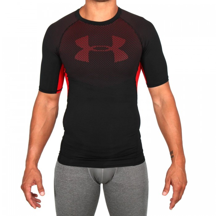 6553047d238 Kompresní triko UA HeatGear Armour Printed Short Sleeve ...