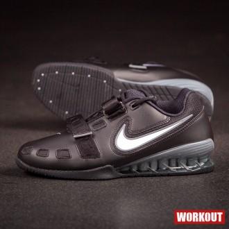 Pánské boty Nike Romaleos 2 - Black   Silver d9e1f12496