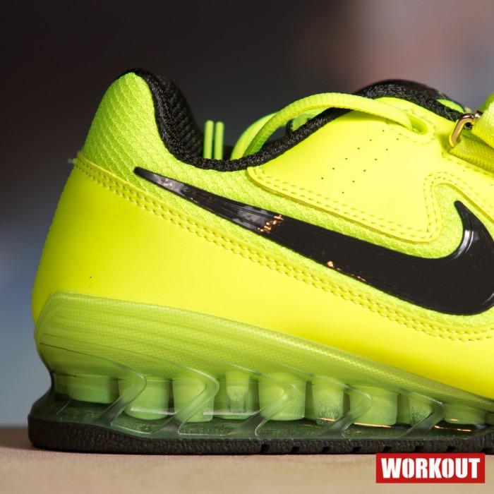 Pánské boty Nike Romaleos 2 - Volt   Sequoia - BotyObleceni.cz 12fa88c995