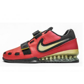 Nike Romaleos 2 Weightlifting Shoes - Varsity Red / Gold / Black