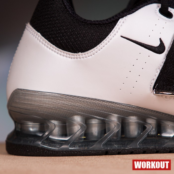 Nike Romaleos 2 Weightlifting Shoes - White / Black